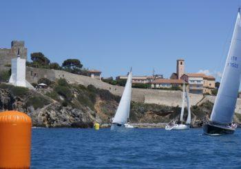 IX Trofeo Reali Presidi di Spagna, Vela d'altura nel Golfo di Talamone
