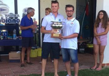 """Savorani e Milone su ITA 31247 vincono la nazionale Snipe di Pescara e conquistano l'ambito titolo di campioni dello """"SCIRA SOUTH EUROPEAN SUMMER CIRCUIT"""""""