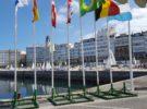 CVT – Il guidone del Circolo della Vela Talamone è arrivato a La Coruña  Per Savorani e Milone primo giorno di allenamento su ITA 31247