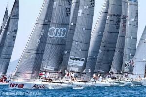 3° act Audi tron Sailing Series - Melges 32 (foto di Leonardo Bianchi)